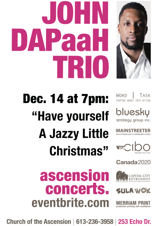 Have yourself a Jazzy Little Christmas Concert